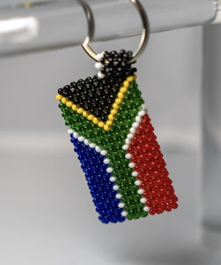 South African Key Ring