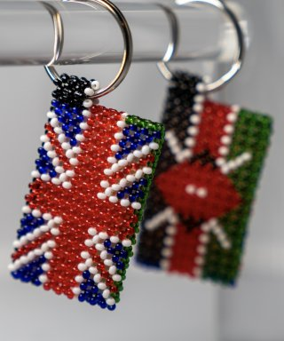 UK/Kenya Key Ring